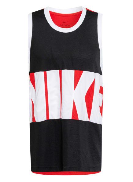 Nike Tanktop DRI-FIT, Farbe: ROT/ SCHWARZ/ WEISS (Bild 1)