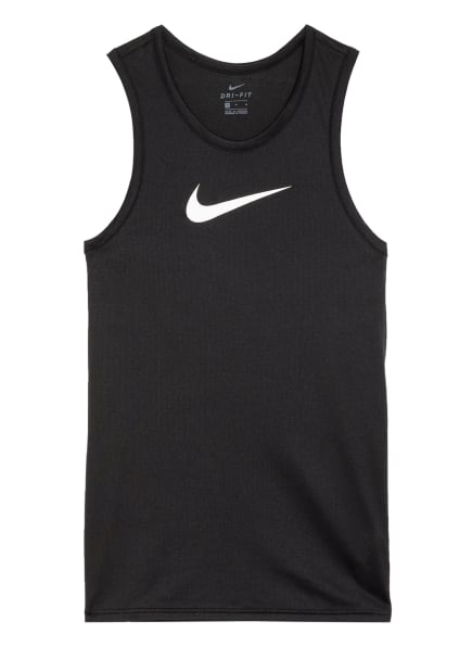 Nike Tanktop Dri-FIT aus Mesh, Farbe: SCHWARZ (Bild 1)