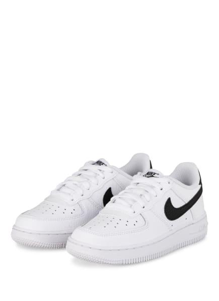 Nike Sneaker NIKE FORCE 1, Farbe: WEISS/ SCHWARZ (Bild 1)
