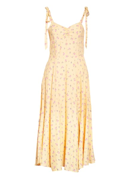 BARDOT Kleid, Farbe: GELB/ ROSA/ OLIV (Bild 1)
