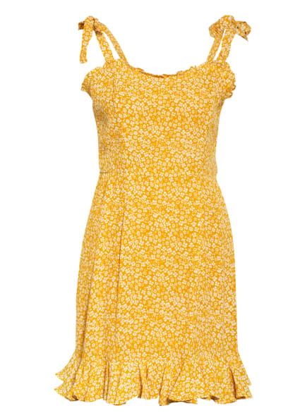 BARDOT Kleid DITSY, Farbe: DUNKELGELB/ WEISS (Bild 1)