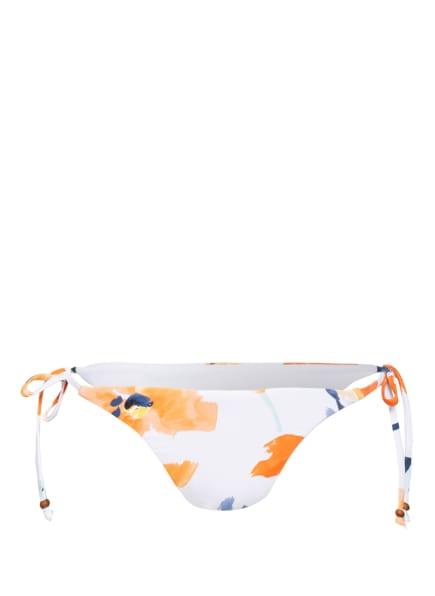 SEAFOLLY Bikini-Hose SUMMER MEMOIRS, Farbe: WEISS/ ORANGE/ BLAU (Bild 1)