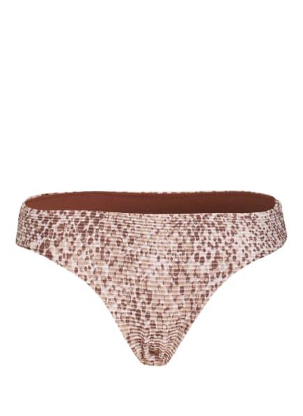 SEAFOLLY Bikini-Hose SERPENTINE , Farbe: ECRU/ BEIGE/ BRAUN (Bild 1)