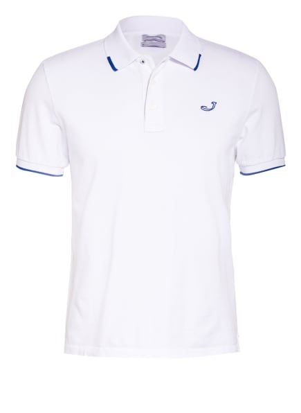 JACOB COHEN Piqué-Poloshirt, Farbe: WEISS (Bild 1)