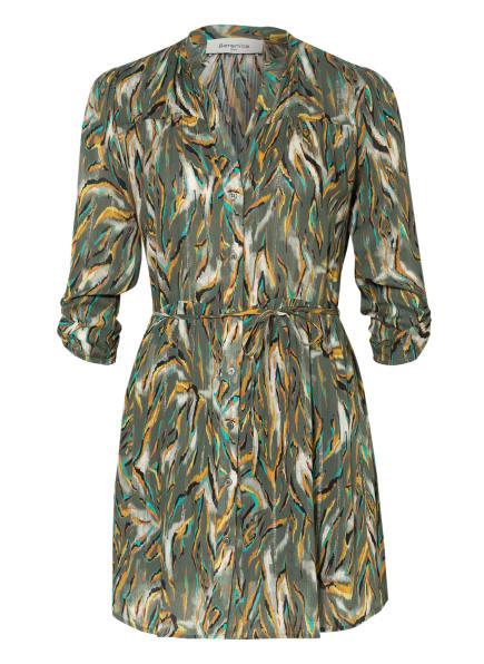 Berenice Kleid mit 3/4-Arm, Farbe: OLIV/ WEISS/ ORANGE (Bild 1)
