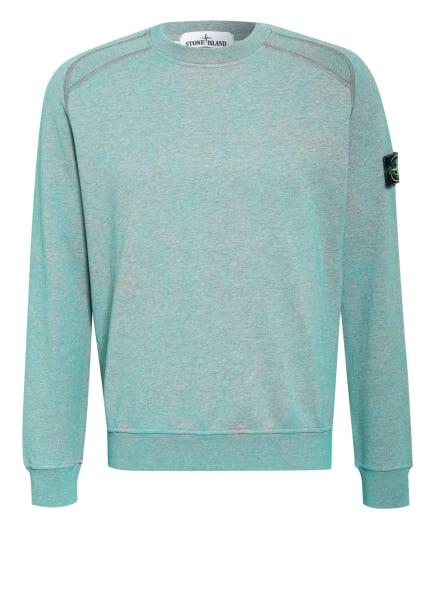 STONE ISLAND Sweatshirt, Farbe: TÜRKIS (Bild 1)