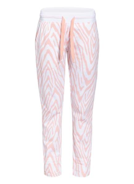 Juvia Sweatpants, Farbe: NUDE/ WEISS (Bild 1)