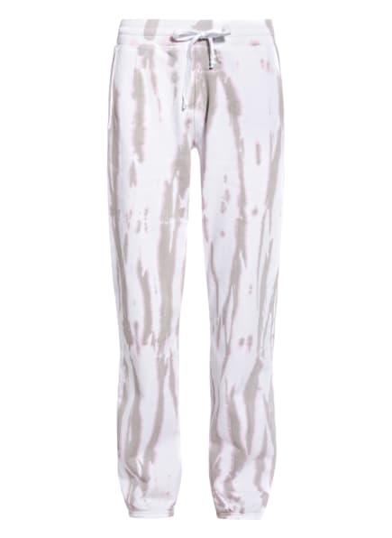 Juvia Sweatpants , Farbe: WEISS/ BEIGE/ ROSA (Bild 1)