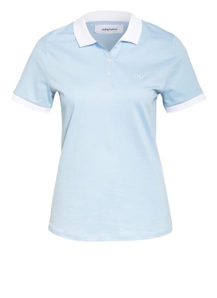 darling harbour Piqué-Poloshirt, Farbe: HELLBLAU (Bild 1)