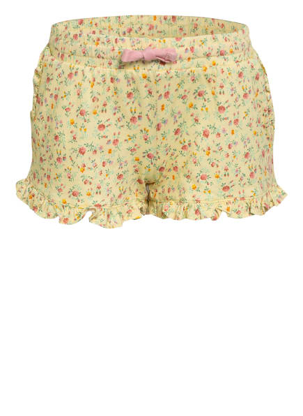 POLO RALPH LAUREN Shorts, Farbe: HELLGELB/ ROSA/ GRÜN (Bild 1)