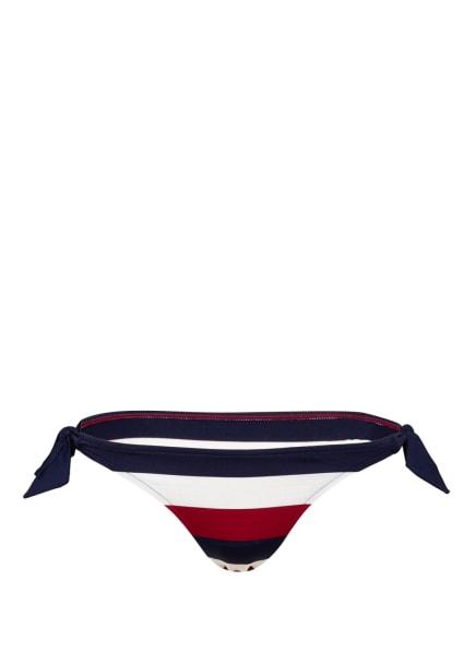 ANDRES SARDA Bikini-Hose MEGAN, Farbe: DUNKELROT/ WEISS/ DUNKELBLAU (Bild 1)