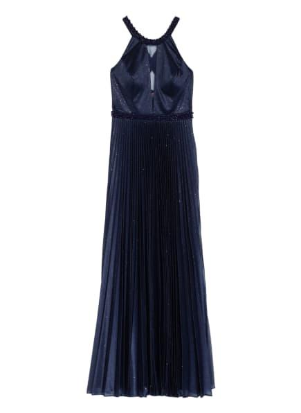 VM VERA MONT Abendkleid, Farbe: DUNKELBLAU/ SILBER (Bild 1)