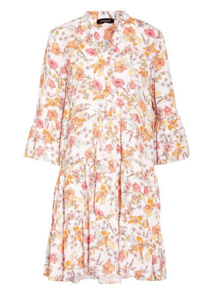 MORE & MORE Kleid mit 3/4-Arm, Farbe: WEISS/ ORANGE/ GELB (Bild 1)