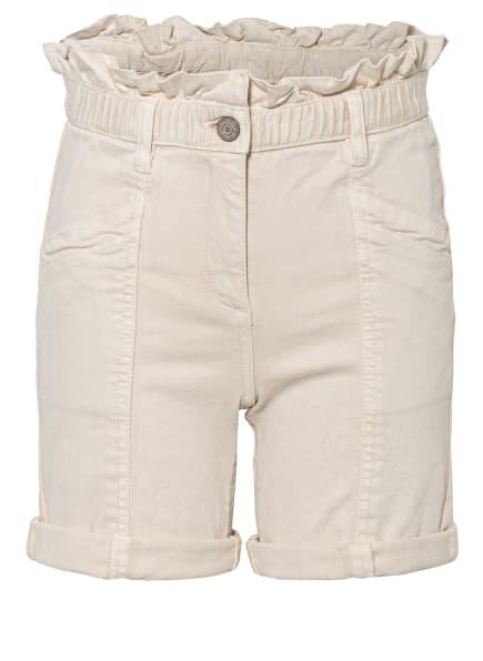 s.Oliver RED Paperbag-Shorts , Farbe: CREME (Bild 1)