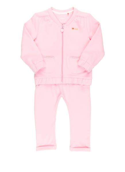 s.Oliver RED Set: Sweatjacke und Sweatpants, Farbe: HELLROSA (Bild 1)