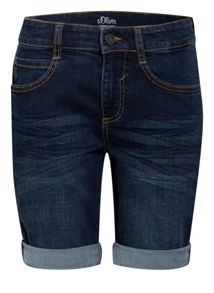 s.Oliver RED Jeans-Shorts, Farbe: DUNKELBLAU (Bild 1)