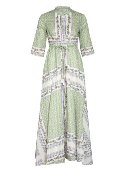 TORY BURCH Kleid, Farbe: HELLGRÜN/ WEISS/ BLAU (Bild 1)