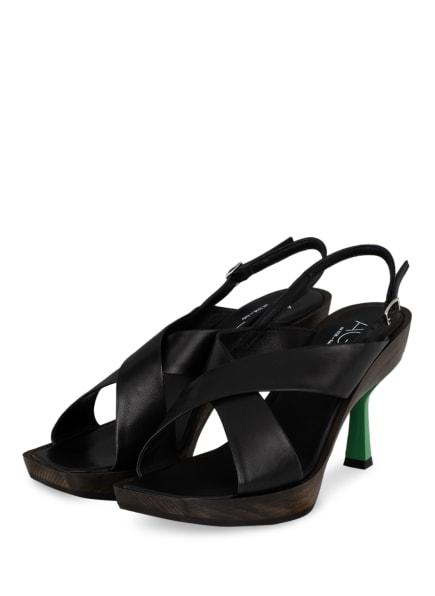 AGL Sandaletten SURIN, Farbe: SCHWARZ (Bild 1)