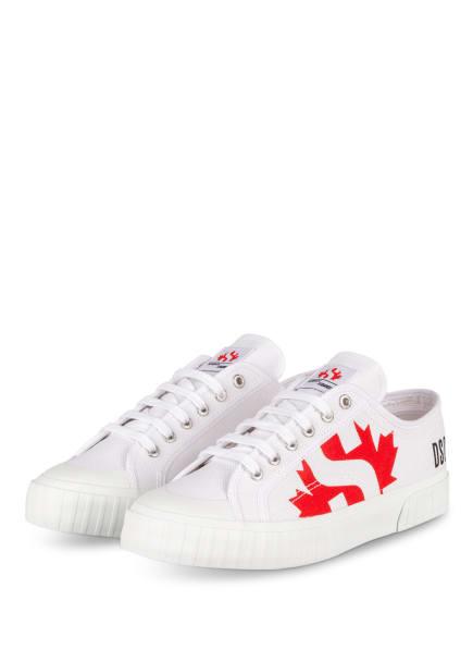 DSQUARED2 Sneaker, Farbe: WEISS (Bild 1)