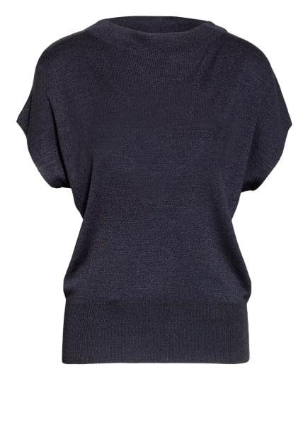 windsor. Strickshirt aus Seide, Farbe: DUNKELBLAU (Bild 1)