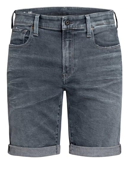 G-Star RAW Jeans-Shorts 3301 Slim Fit, Farbe: C268 worn in smokey night (Bild 1)