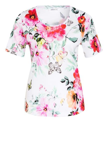 efixelle T-Shirt , Farbe: WEISS/ PINK/ HELLGRÜN (Bild 1)