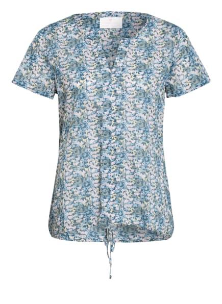 LIEBLINGSSTÜCK Blusenshirt ELTJEL, Farbe: PETROL/ HELLROSA/ HELLGELB (Bild 1)