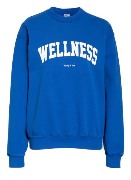 SPORTY & RICH Sweatshirt, Farbe: BLAU (Bild 1)