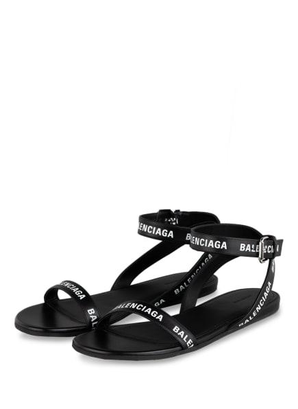 BALENCIAGA Sandalen, Farbe: SCHWARZ (Bild 1)
