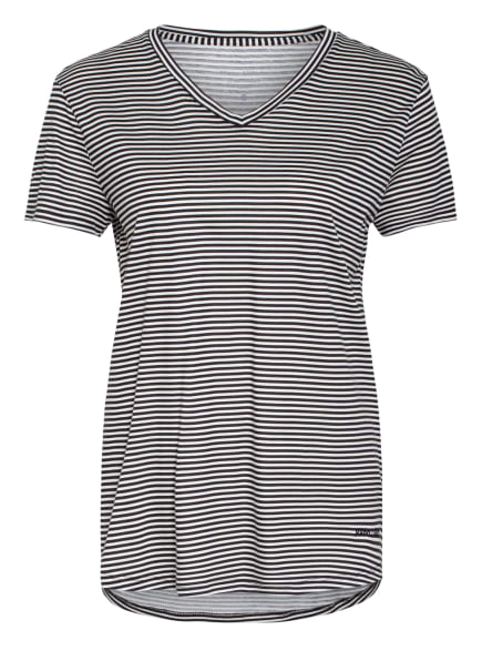 Marc O'Polo Schlafshirt, Farbe: SCHWARZ/ WEISS (Bild 1)