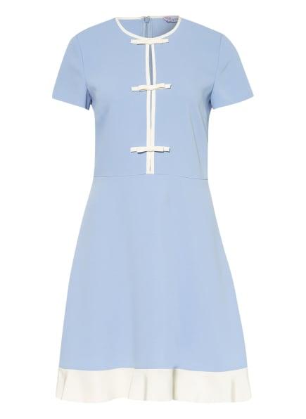 RED VALENTINO Kleid, Farbe: HELLBLAU/ CREME (Bild 1)