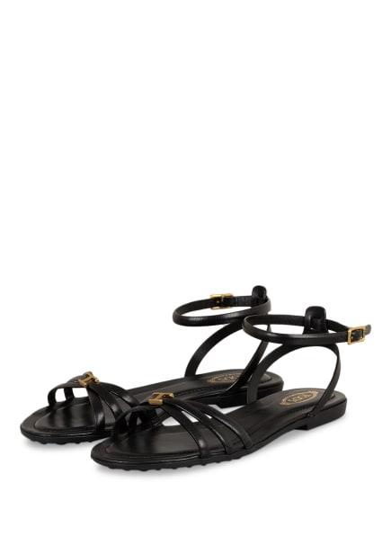 TOD'S Sandalen , Farbe: SCHWARZ (Bild 1)