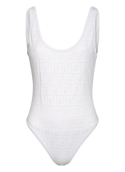 FENDI Badeanzug , Farbe: WEISS (Bild 1)