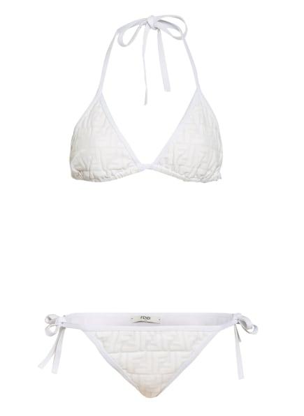 FENDI Triangel-Bikini, Farbe: WEISS (Bild 1)