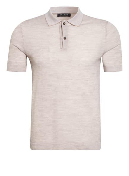MAERZ MUENCHEN Strick-Poloshirt , Farbe: BEIGE (Bild 1)