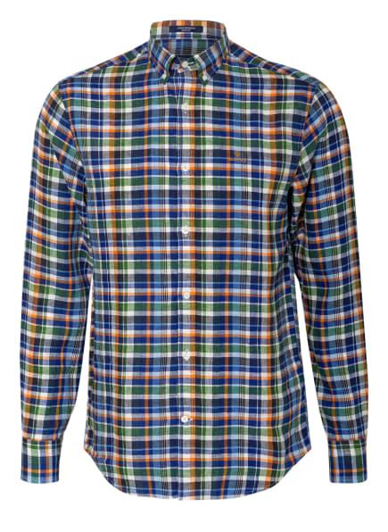 GANT Leinenhemd Regular Fit , Farbe: ORANGE/ BLAU/ WEISS (Bild 1)