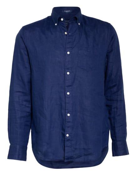 GANT Leinenhemd Regular Fit, Farbe: DUNKELBLAU (Bild 1)