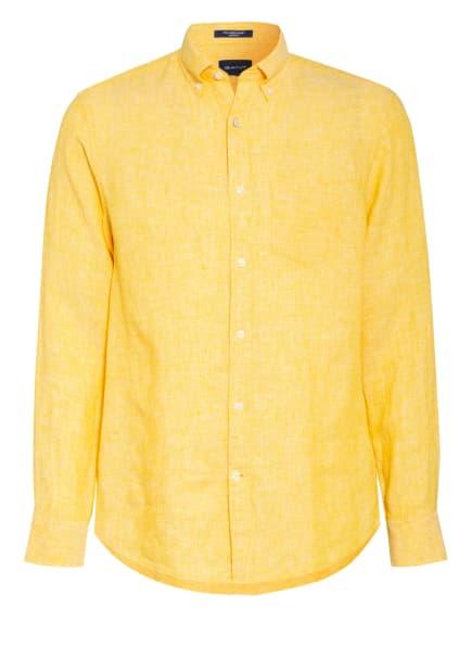 GANT Leinenhemd Regular Fit, Farbe: GELB (Bild 1)