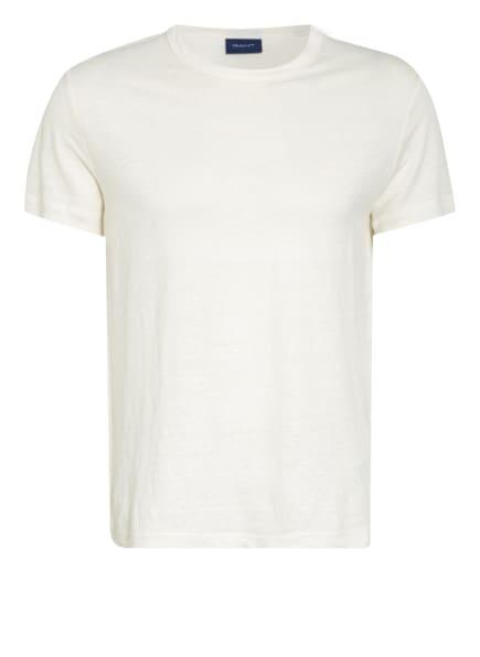 GANT T-Shirt aus Leinen, Farbe: ECRU (Bild 1)
