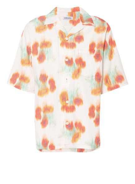 KENZO Resorthemd Comfort Fit, Farbe: CREME/ GRÜN/ ORANGE (Bild 1)