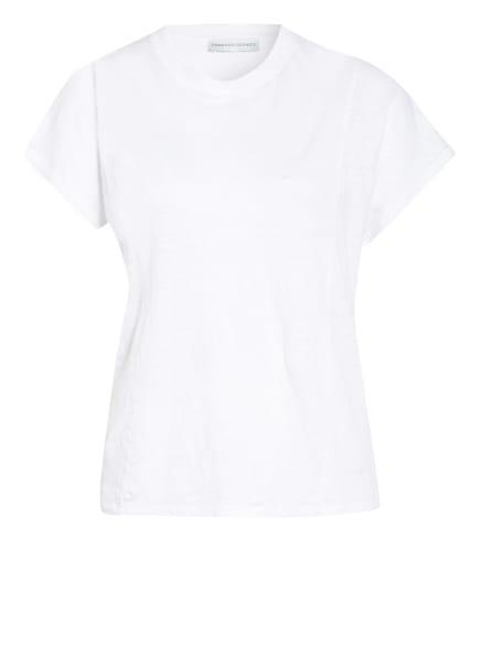 FUNKTION SCHNITT, T-Shirt BREEZE aus Leinen , Farbe: WEISS (Bild 1)