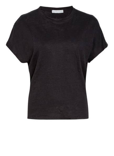 FUNKTION SCHNITT, T-Shirt BREEZE aus Leinen , Farbe: SCHWARZ (Bild 1)