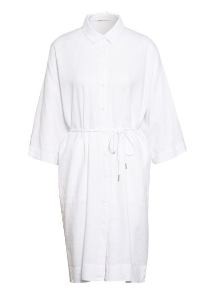 InWear Hemdblusenkleid DRIZAIW mit Leinen, Farbe: WEISS (Bild 1)