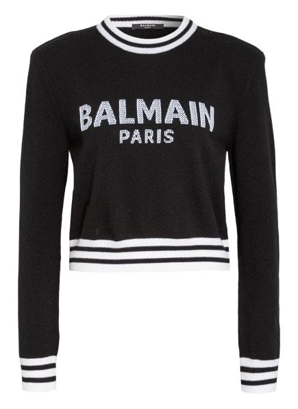 BALMAIN Pullover, Farbe: SCHWARZ (Bild 1)