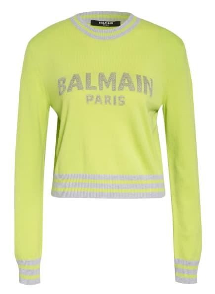 BALMAIN Pullover, Farbe: HELLGRÜN (Bild 1)