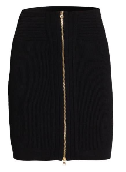 BALMAIN Strickrock, Farbe: 0PA Noir (Bild 1)
