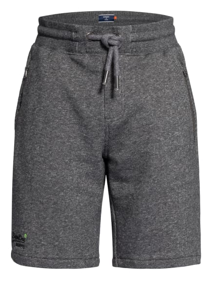 Superdry Shorts, Farbe: DUNKELGRAU/ HELLGRAU (Bild 1)