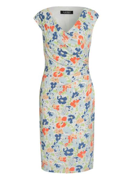 LAUREN RALPH LAUREN Kleid BRANDIE, Farbe: WEISS/ BLAU/ HELLGRÜN (Bild 1)