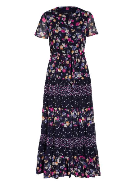 LAUREN RALPH LAUREN Kleid TIGRAN, Farbe: DUNKELBLAU/ PINK/ DUNKELLILA (Bild 1)