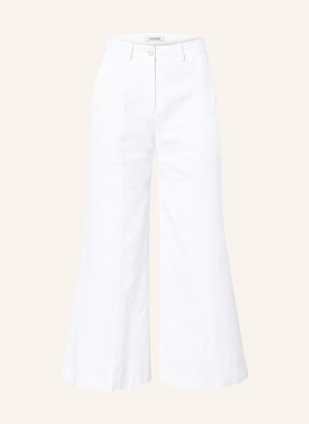 VALENTINO Jeans-Culotte, Farbe: WEISS (Bild 1)